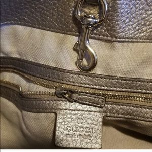 Gucci Bags - Gucci Soho Large gold beige bag with chain
